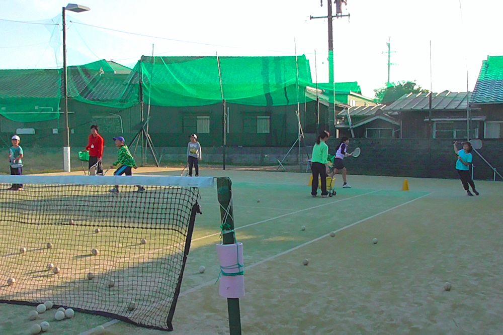 ソフトテニスレッスン